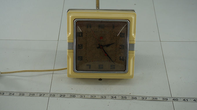 1950s Telechtron Electric Wall Clock - Works
