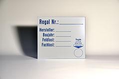 Typenschilder Resopal, Lasergravur