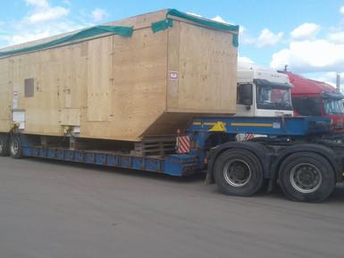Доставка энергетического оборудования на месторождение