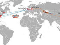 Почему резко возросли ставки на контейнера, а в США возят грузы из Китая через Россию