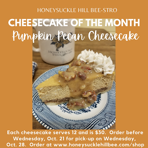 Cheesecake of the Month