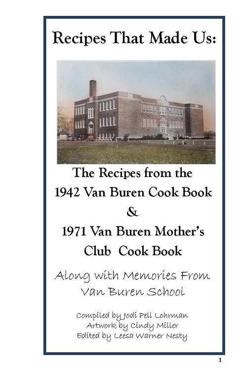 Digital Van Buren Cookbook 1942 & 1971 Combined