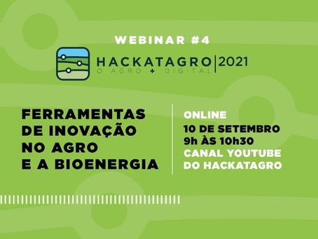 Ferramentas de Inovação no Agro e a Bioenergia são temas de Webinar