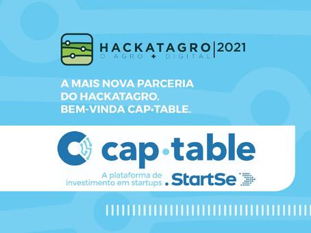 CapTable, a plataforma de investimento em startups da StartSe é parceira da HackatAgro