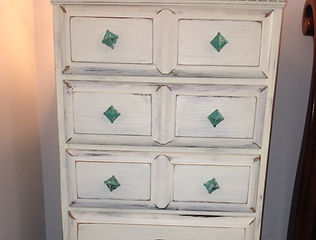 dresser refinished and distressed