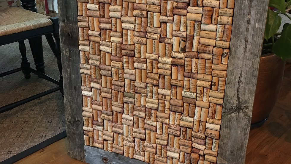 custom wine cork board (lg)