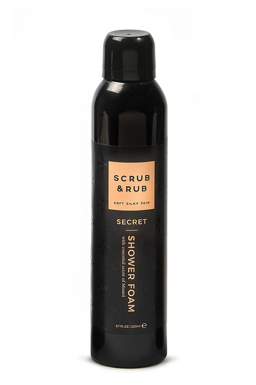 Scrub & Rub Showerfoam Secret 200ml