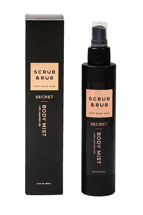 Scrub & Rub Body Mist Secret 100ml