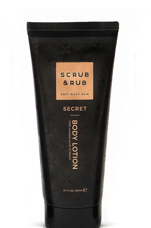 Scrub & Rub Body Lotion Secret 200ml