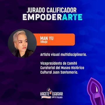 Qualifying jury in Empoderarte