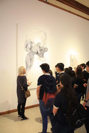 Traje Humano en la Galería Nacional