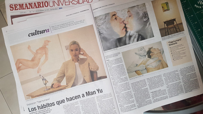 Traje Humano, Semanario Universidad