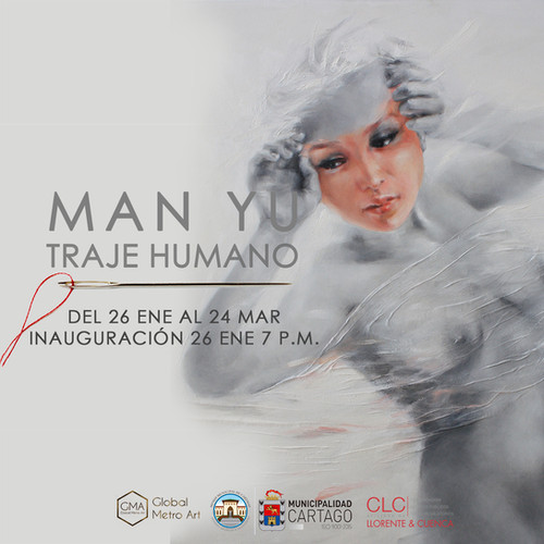 Inauguración de Traje Humano en el Museo Municipal de Cartago