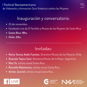 I Ibero-American Festival of Video Art and Animation Zero Violence against Women