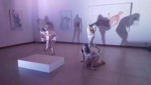 Inauguración oficial de Traje Humano, Galería Nacional