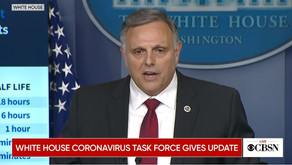 White House Briefing: Half Life of CV19 is 1.2 min in UV light + high temperature + humidity