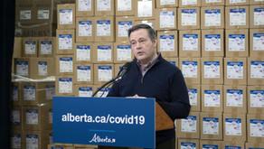 In striking act of generosity, Alberta donates protective gear worth $41 million to three provinces