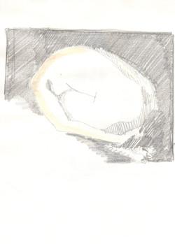 11. P. Alviti, studio di donna#11, 2008, matita e pastello su carta, cm21x28cm.j