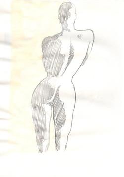 10. P. Alviti, studio di donna#10, 2008, matita e pastello su carta, cm21x28cm.j