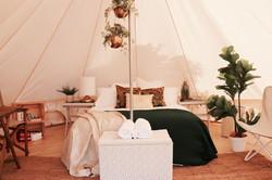 Tropicana Luxe styled tent