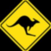 Kangaroo Island kangaroo sign