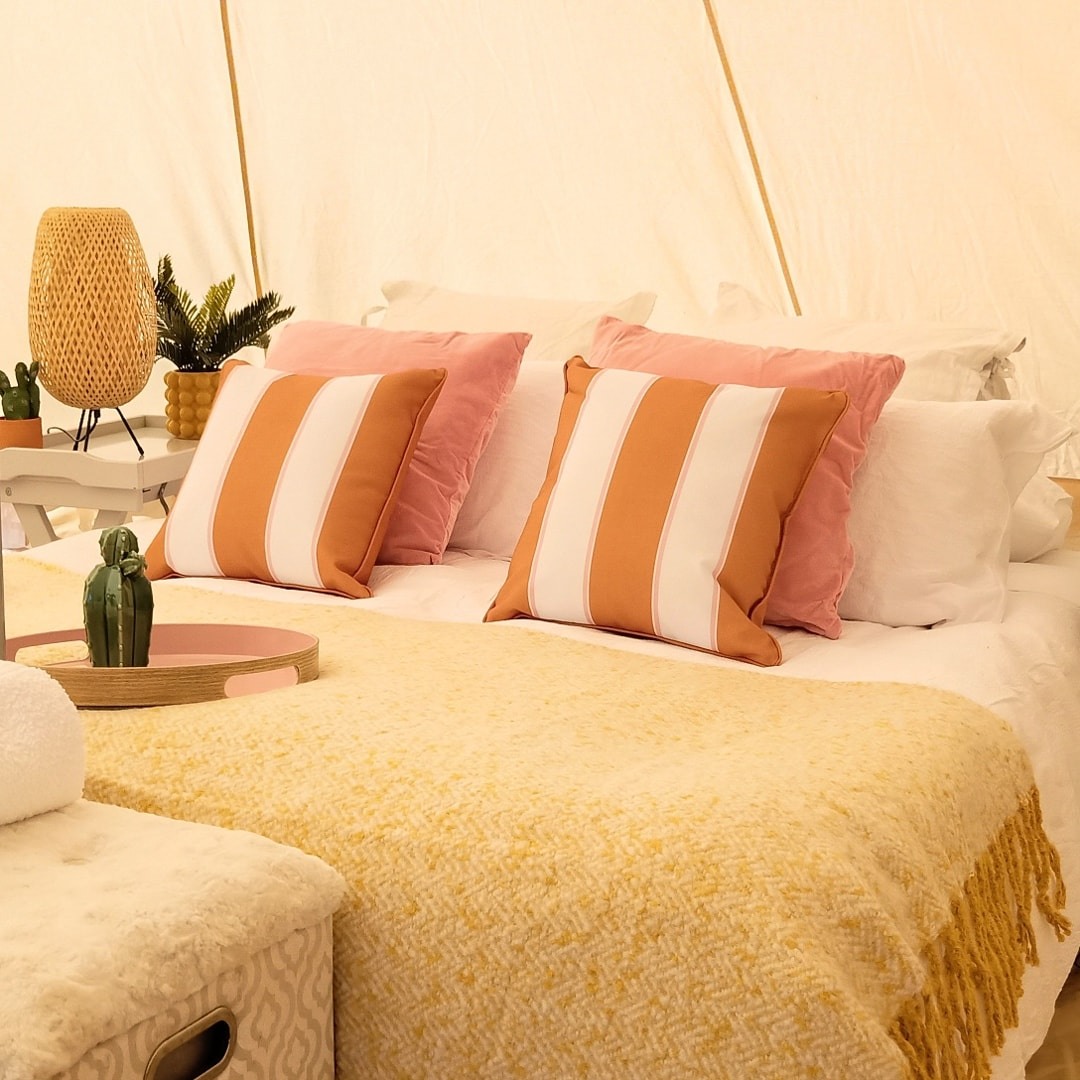 RITA tent interior styling