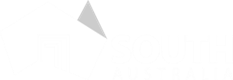 Brand South Australian Logo White