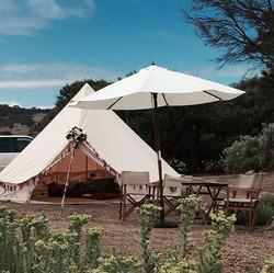 Wandering souls tent and Umbrella
