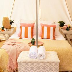 RITA tent interior