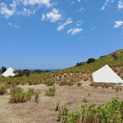 2 Wandering Souls Glamping Tents at Stok