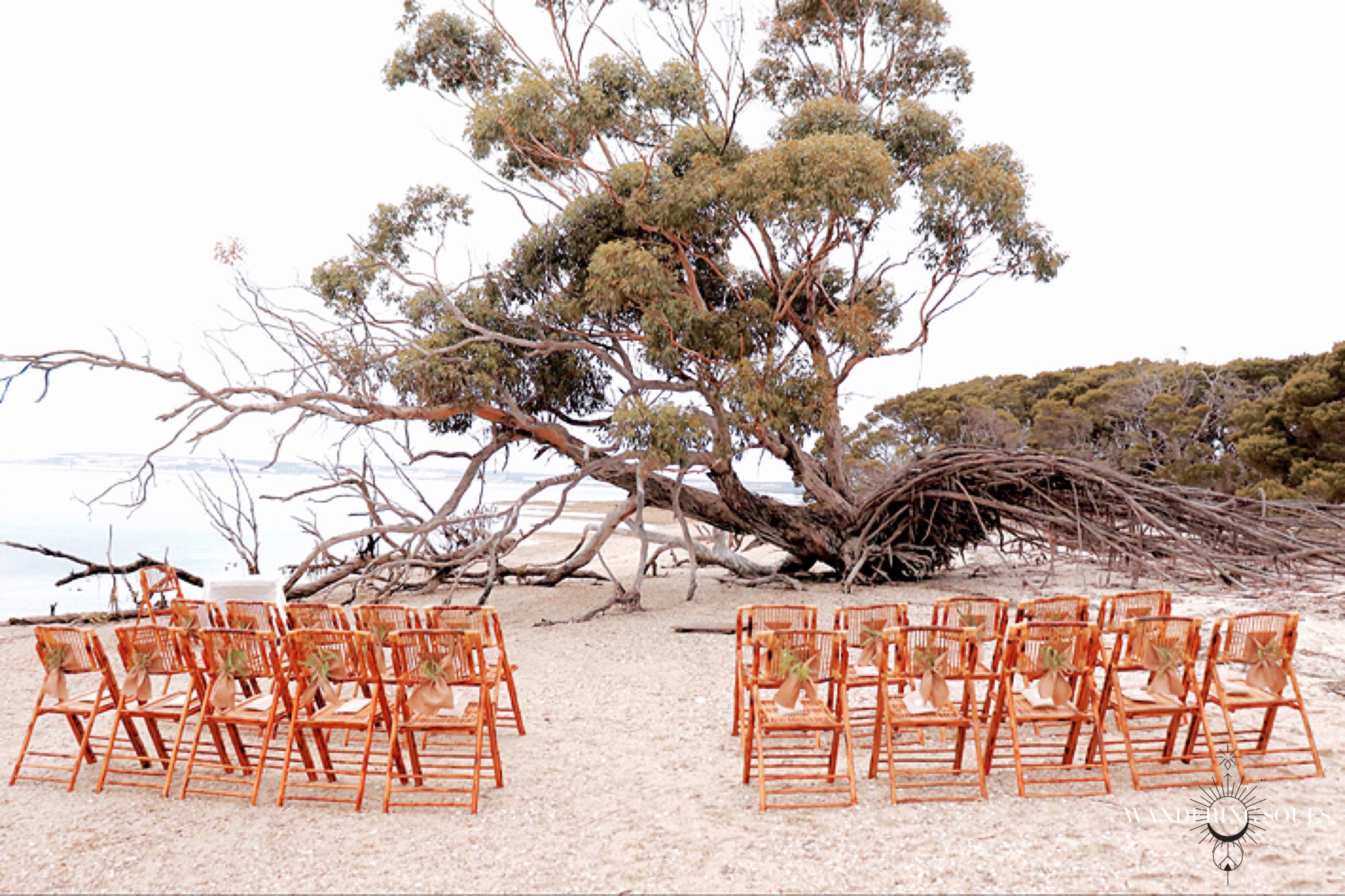 Kangaroo Island Beach Wedding