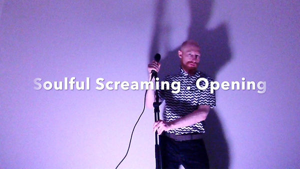 AAW SESSIONS:  Soulful Screaming . Openi