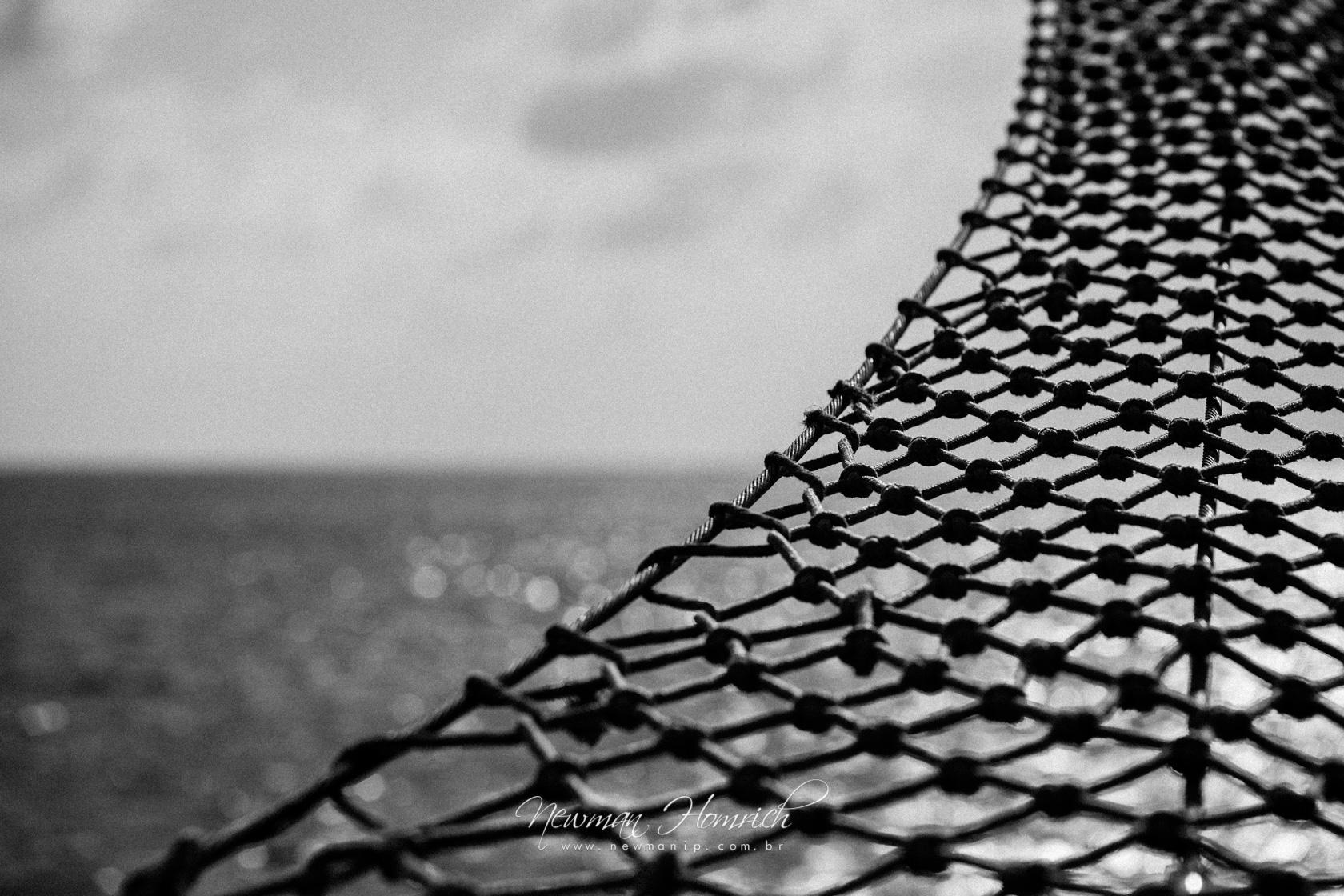 A rede e o mar