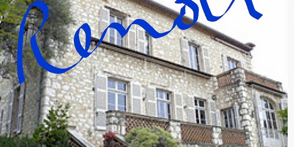 Visite du Musée Renoir + Pause croquis dans le jardin
