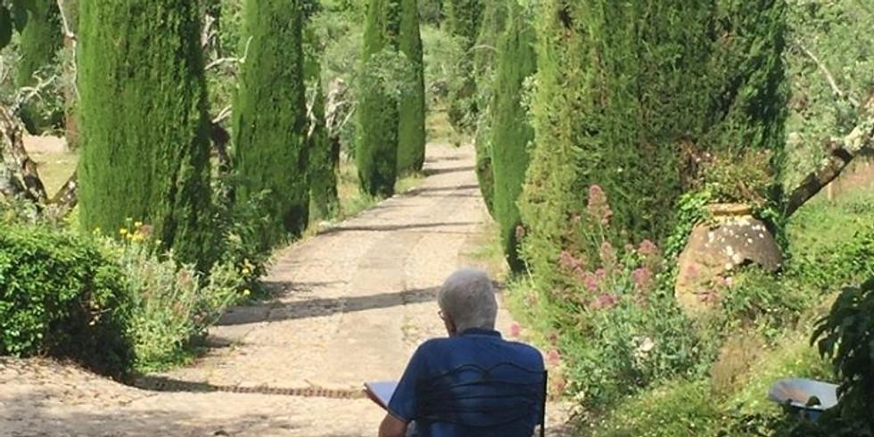 Parcours pédagogique et balade croquis à Saint-Cezaire