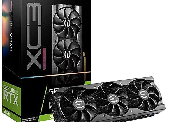 EVGA GeForce RTX 3070 XC3 Ultra Gaming, 08G-P5-3755-KL, 8GB GDDR6, iCX3 Cooling,