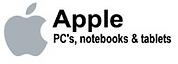 Apple PCs, Notebooks, & Tablets