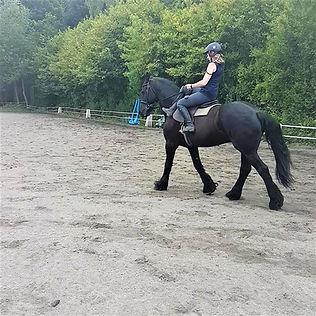 Initiation équitation amazone 76 proche rouen
