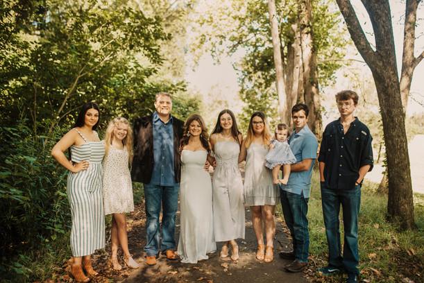 Fyke Family | Riverwalk Family Session