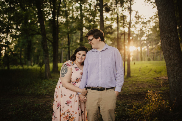 Hayley & Jordy | Sweet Cypress Engagement