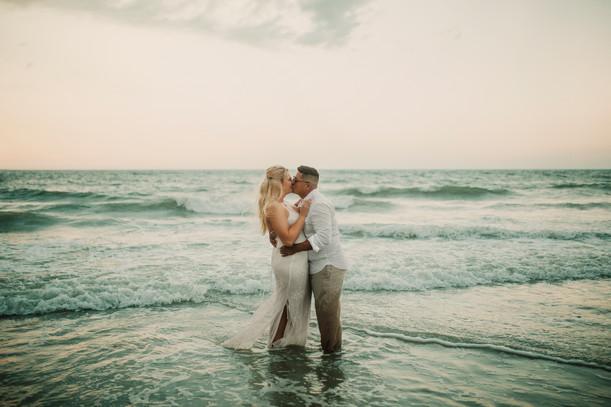 Hailey & Fabian | Jacksonville Beach Session