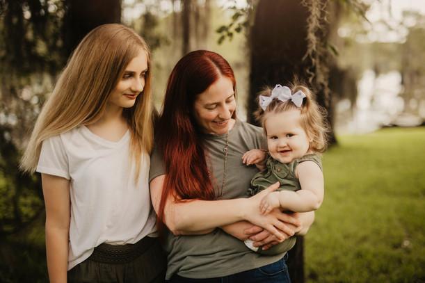 Danielle, Melrose & Roe   Sweet Cypress Family