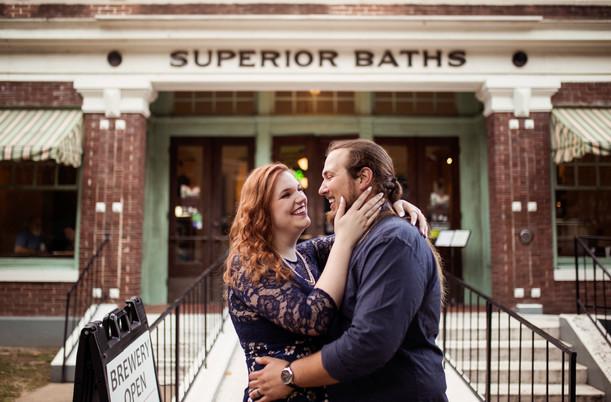 Emily & Joel | Hot Springs Engagement
