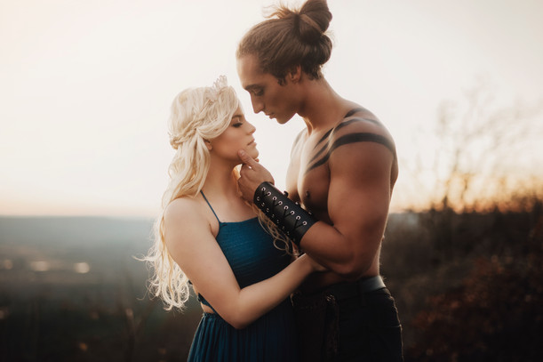 Game Of Thrones | Mountain Styled Shoot