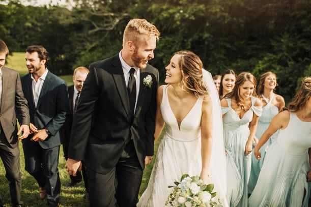 Mr. & Mrs. Reeves Blankenship | Gorgeous Intimate Ruston Wedding