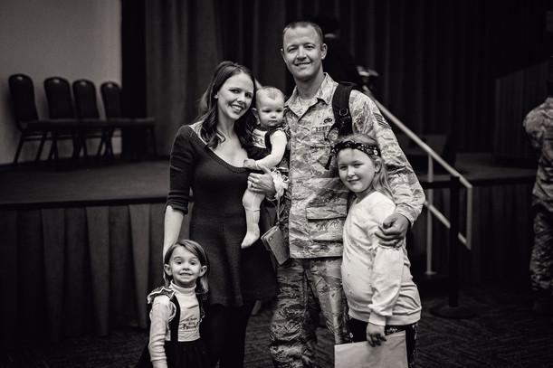 Blake Family   Military Homecoming #3