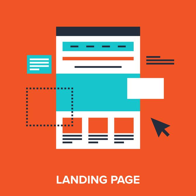 O que é landing page e por que devo utilizá-la em meu site?