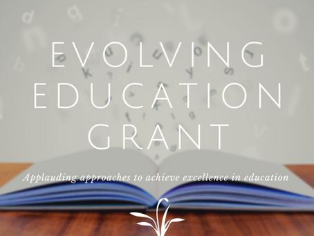 Evolving Education Grant