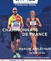 Championnat de France de Marche - 1 Médaille de plus dans l'escarcelle de Lucie CHAMPALOU.