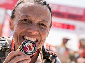Nathalie MAUCLAIR remporte le Marathon des Sables